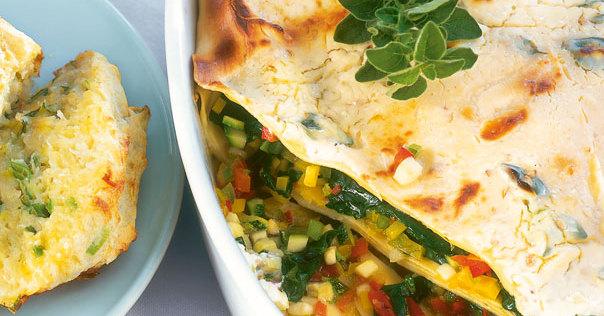 fettarme gem se lasagne vegetarisch rezept k cheng tter. Black Bedroom Furniture Sets. Home Design Ideas
