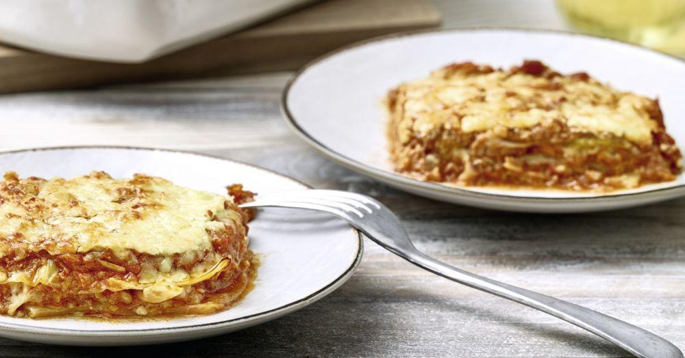 wei kohl lasagne mit bolognese i rezept f r den thermomix k cheng tter. Black Bedroom Furniture Sets. Home Design Ideas
