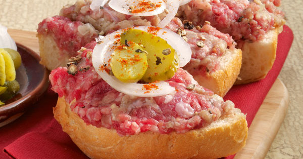 Hamburger Mettbrötchen