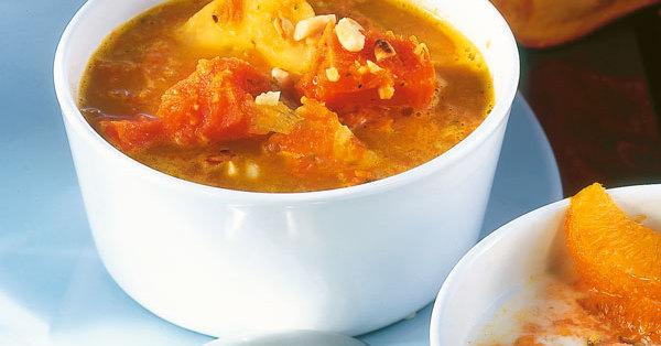 Karibische Kürbissuppe Rezept | Küchengötter