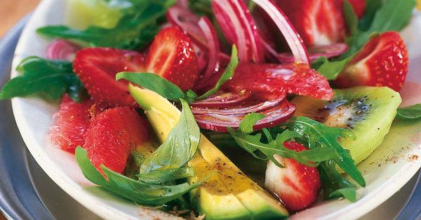 Rucola Frucht Salat Rezept K 252 Cheng 246 Tter