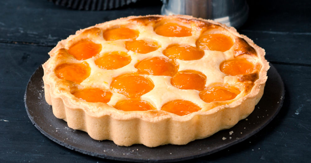 Quark-Aprikosenkuchen