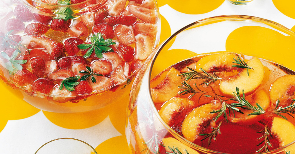waldmeister erdbeer bowle rezept küchengötter
