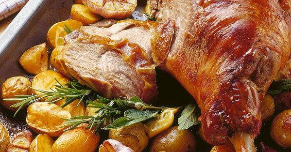 Klassische Lammkeule Rezept Küchengötter