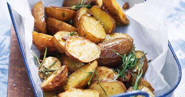 Rosmarin-Ofenkartoffeln Rezept | Küchengötter