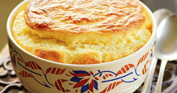 Käsesoufflé mit Gruyère