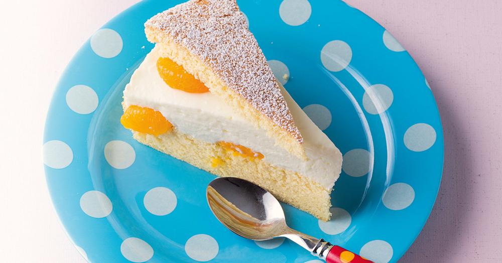 Käse-Sahne-Torte Rezept (glutenfrei)