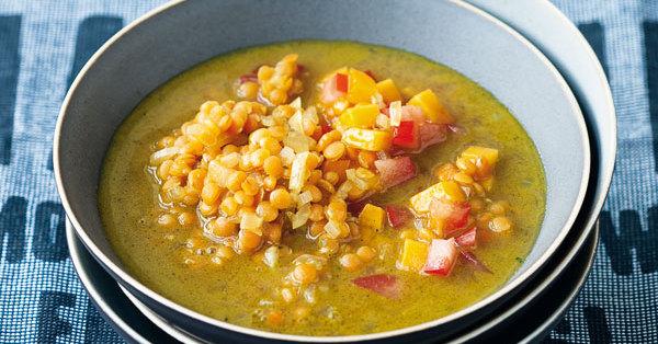 scharfe linsen suppe mit mango rezept k cheng tter. Black Bedroom Furniture Sets. Home Design Ideas