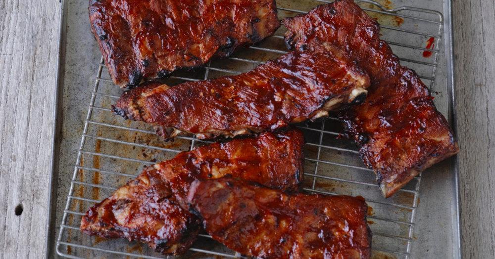 Spareribs mit homemade BBQ-Sauce