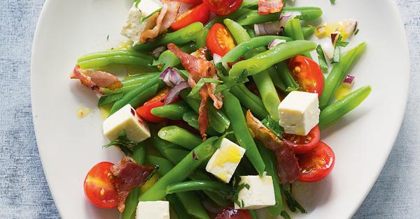 bohnen tomaten salat mit feta rezept k cheng tter. Black Bedroom Furniture Sets. Home Design Ideas