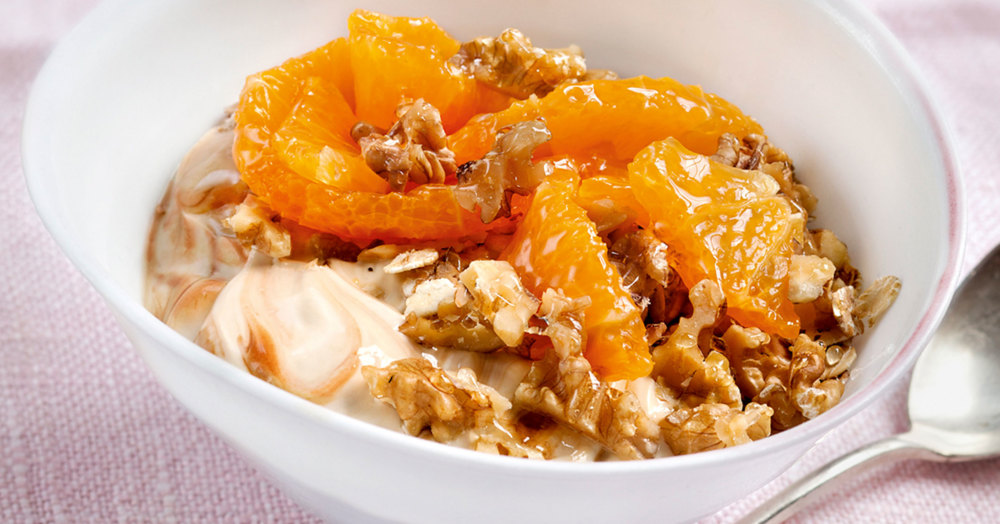 Bildergebnis für müsli mit orangenquark