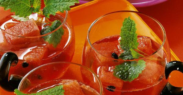 Melonen-Campari-Bowle Rezept | Küchengötter