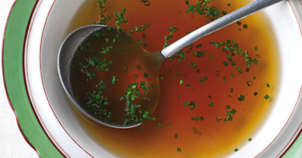 Rindsuppe Rezept   Küchengötter