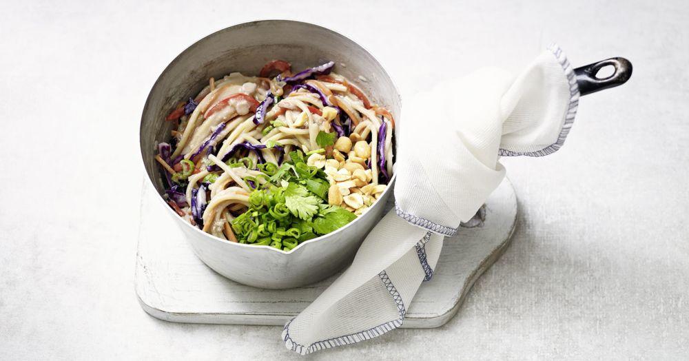 One-Pot-Thai-Nudeln