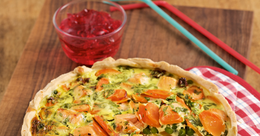 Gemüsekuchen Rezept | Küchengötter Paleo