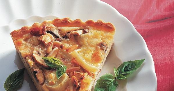 pizza mit champignons rezept k cheng tter. Black Bedroom Furniture Sets. Home Design Ideas