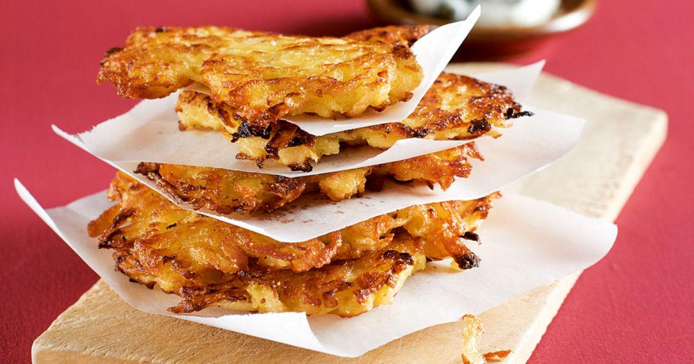 Kartoffel-Pastinaken-Puffer