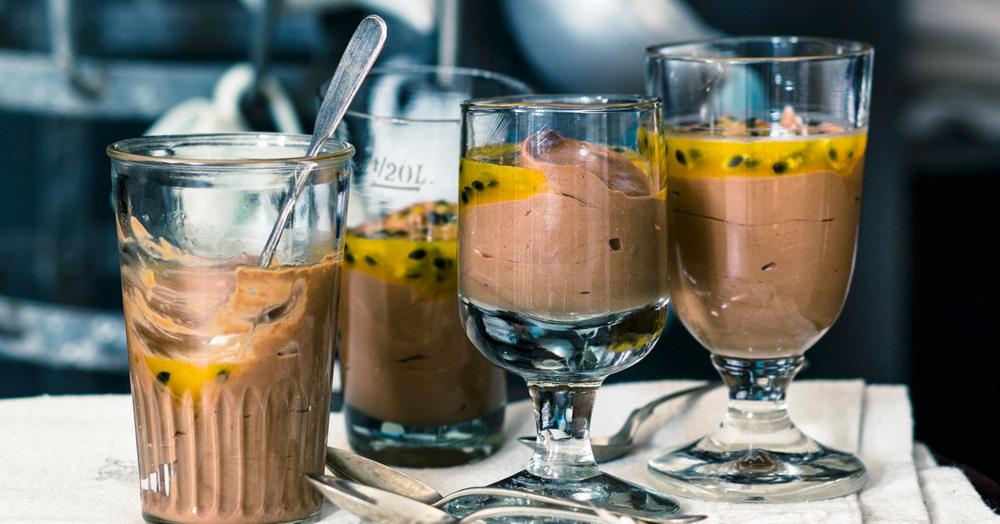 Mousse au chocolat amer - Dunkle Schokoladenmousse