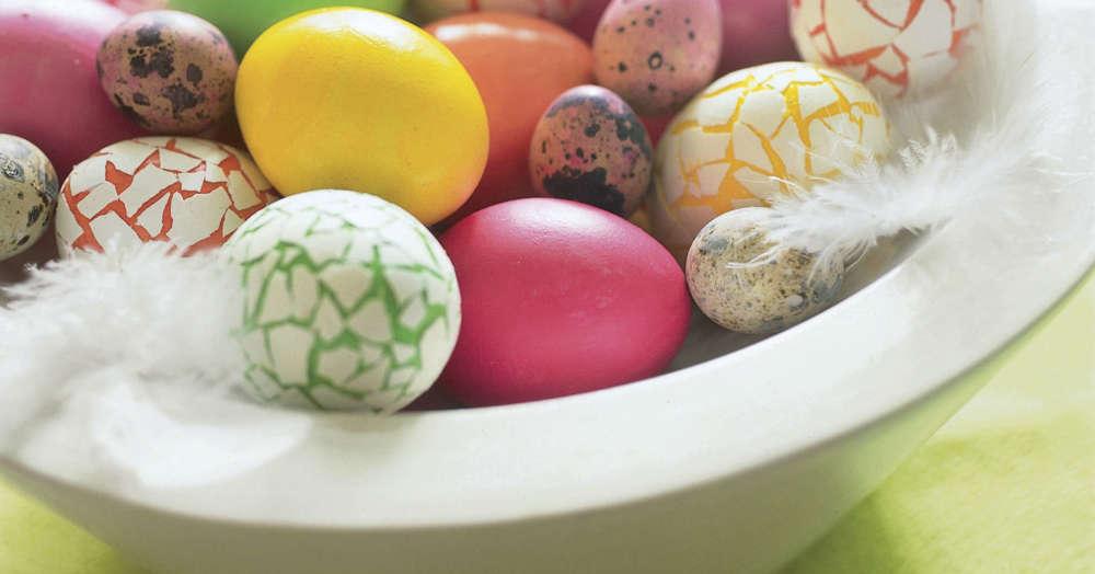 Rezepte Für Ostern Ostereier Natürlich Färben Küchengötter