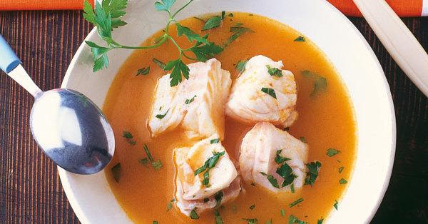 Einfache Fischsuppe