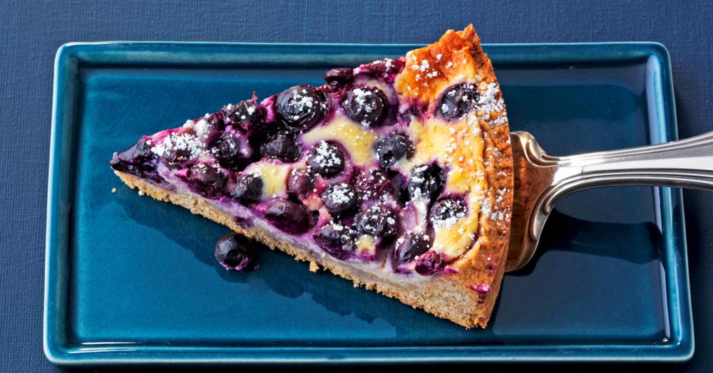 Schneller Heidelbeer-Mascarpone-Kuchen
