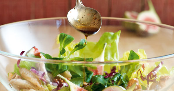 herbstlicher blattsalat mit feigen rezept k cheng tter. Black Bedroom Furniture Sets. Home Design Ideas