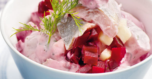 Heringssalat Mit Roter Bete Rezept Küchengötter
