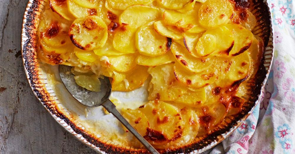 Kartoffelgratin für Zwei
