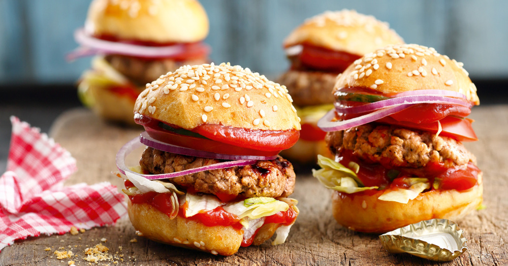 Fingerfood: Mini-Hamburger