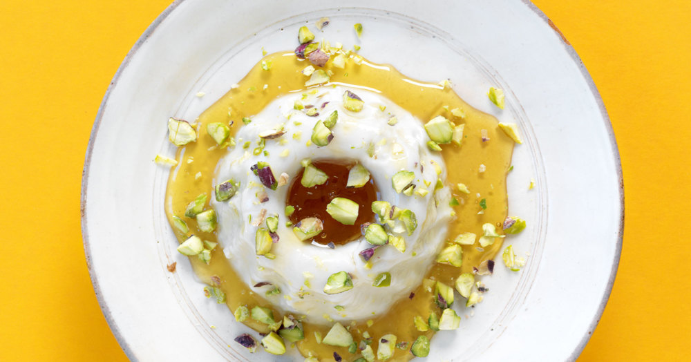 Mandel-Pudding