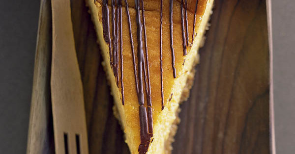 Schoko-Mango-Cheesecake