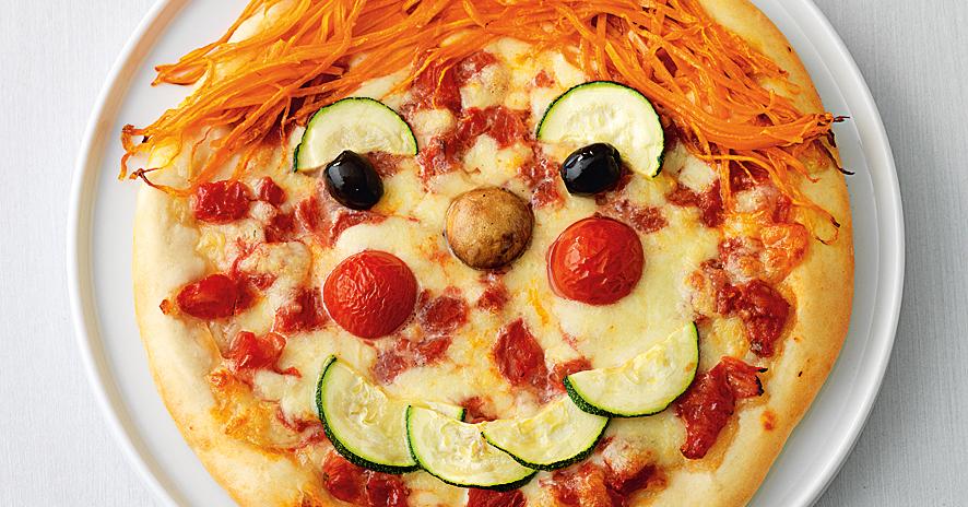 pizza gesichter rezept k cheng tter. Black Bedroom Furniture Sets. Home Design Ideas
