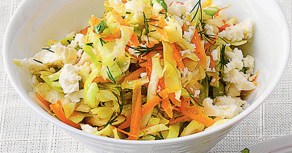 spitzkohl m hren salat mit schafk se rezept k cheng tter. Black Bedroom Furniture Sets. Home Design Ideas