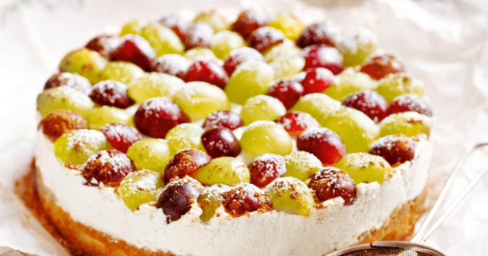 Trauben-Grappa-Torte