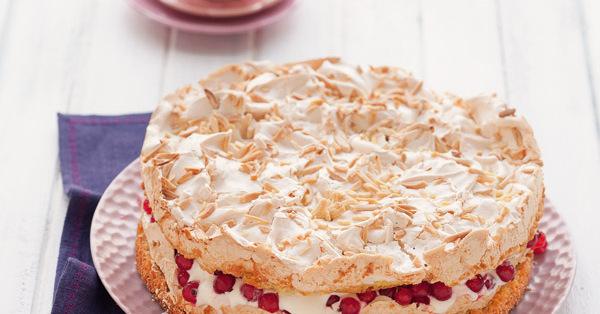 Rezept Fur Beeren Baiser Torte Rezept Kuchengotter