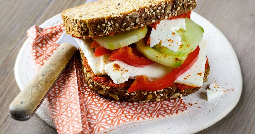 Sandwich »Kreta-Style« Rezept | Küchengötter