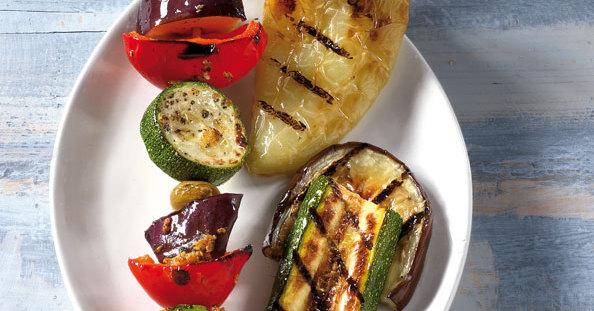 Buntes griechisches Gemüse