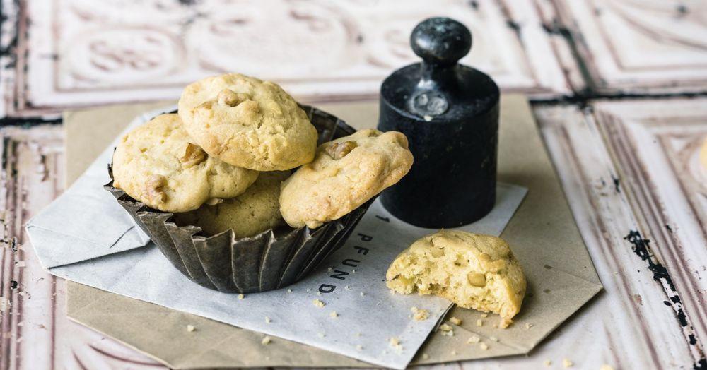 walnuss cookies rezept schnelle kekse k cheng tter. Black Bedroom Furniture Sets. Home Design Ideas