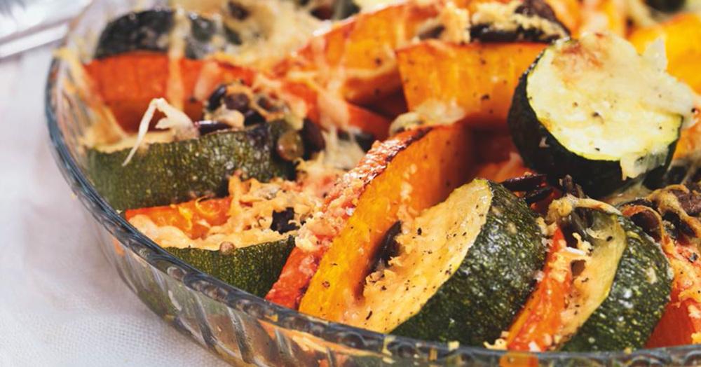 ofenk rbis mit zucchini rezept k cheng tter. Black Bedroom Furniture Sets. Home Design Ideas