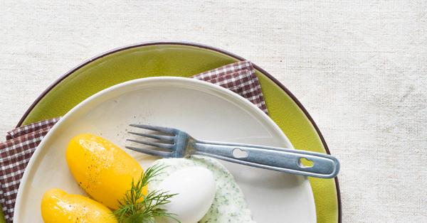 Eier und kartoffeln mit gr ner sauce rezept k cheng tter - Eier kochen dauer ...