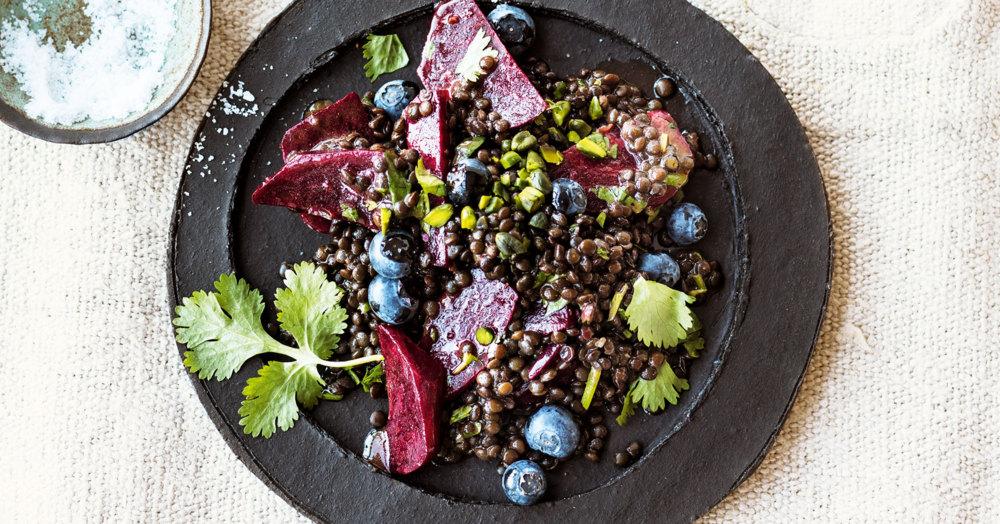 rote bete linsen salat rezept k cheng tter. Black Bedroom Furniture Sets. Home Design Ideas