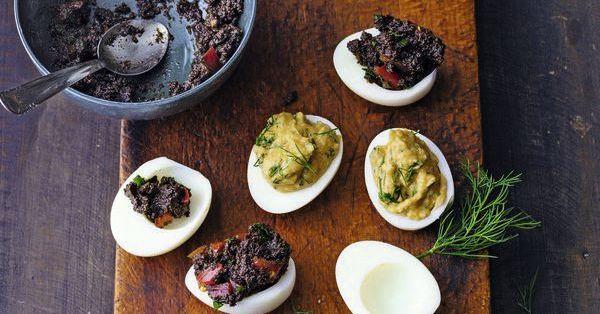 Gef llte eier rezept k cheng tter - Eier hart kochen dauer ...