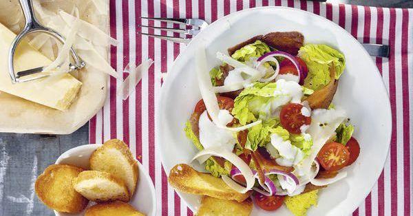 caesar salad mit pfeffer seitan rezept k cheng tter. Black Bedroom Furniture Sets. Home Design Ideas