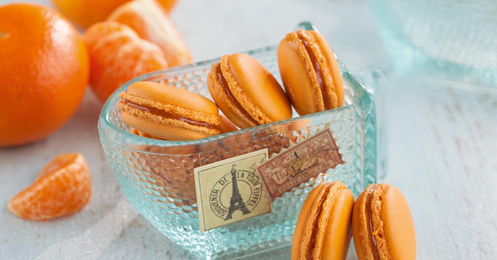 rezept f r mandarinen macarons k cheng tter. Black Bedroom Furniture Sets. Home Design Ideas