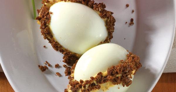Pikant gef llte eier rezept k cheng tter - Eier mittel kochen ...