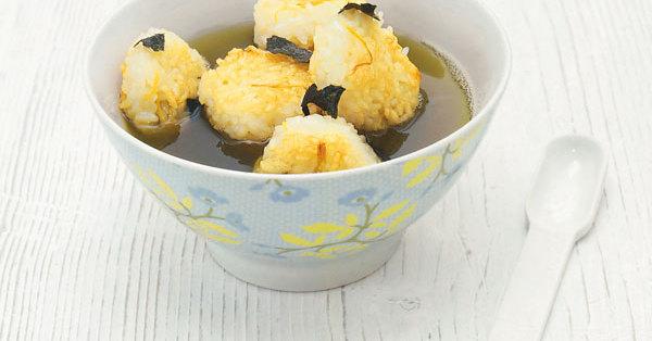 Mini-Reiskuchen in Teesud