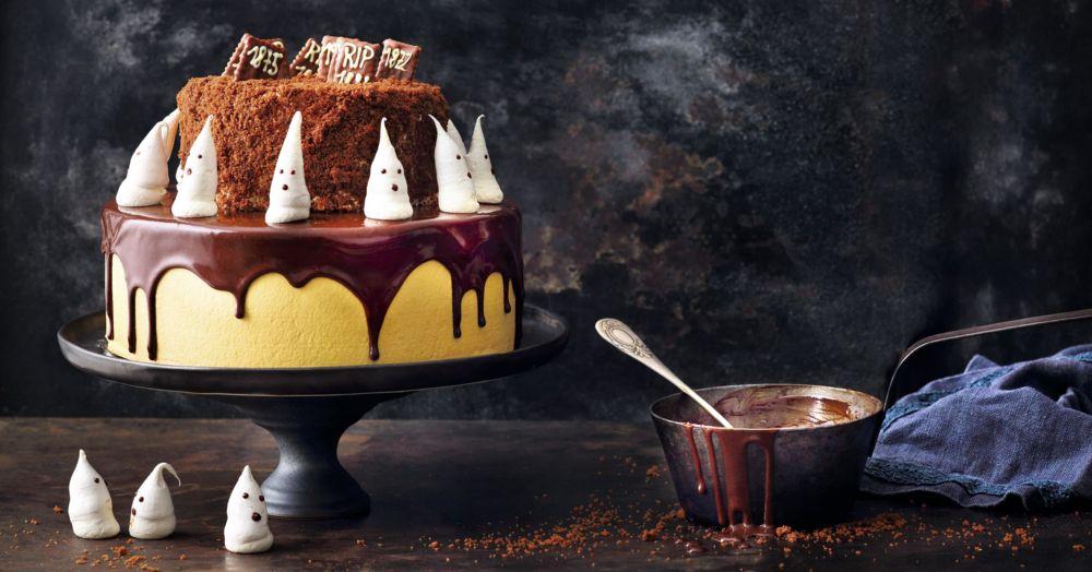 Halloween-Schokoladentorte Bloodylicious