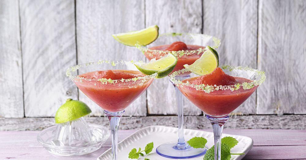 strawberry margarita rezept alkoholfrei k cheng tter. Black Bedroom Furniture Sets. Home Design Ideas