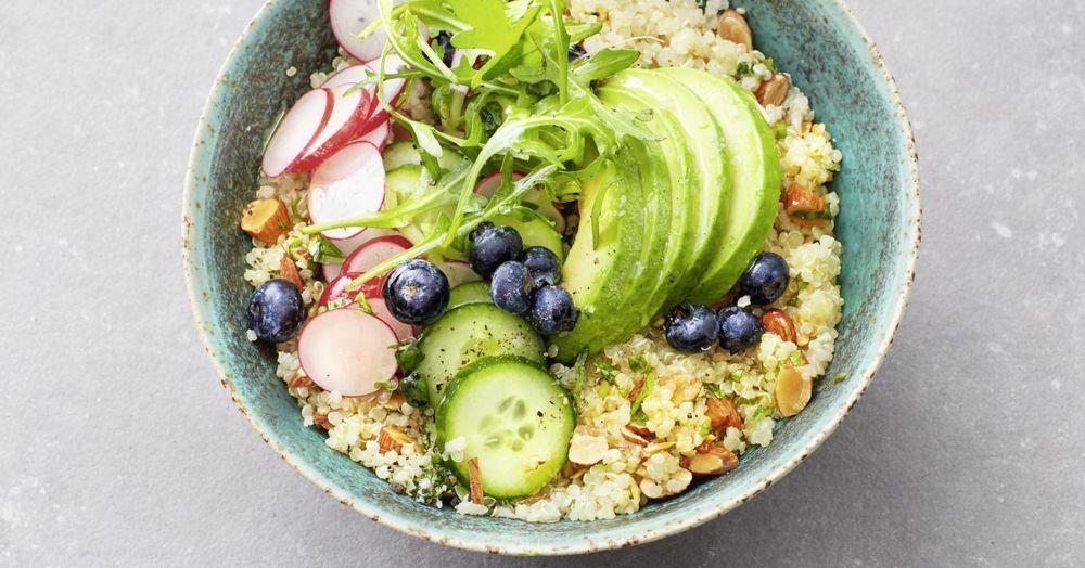 Quinoa-Avocado-Bowl