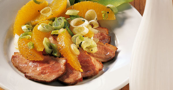 entenbrust orangen salat rezept k cheng tter. Black Bedroom Furniture Sets. Home Design Ideas
